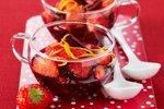 Jagode v rdečem vinu