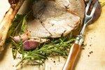 Pečeno jagnječje stegno z začimbami