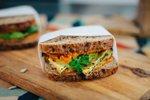 Veganski sendvič z bučkami