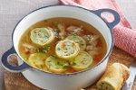Piščančja juha s palačinkinimi zvitki