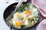 Pečena jajca po florentinsko