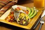 Burrito s klobaso in jajci