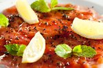 Tunin carpaccio