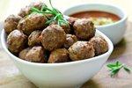 Mini italijanske mesne kroglice