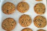 Piškoti s čokolado in arašidovim maslom