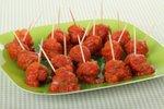 Kitajske mesne kroglice v omaki