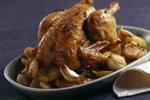 Pečen piščanec s krompirjem