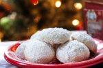 Snežne kepe z orehi in pomarančo