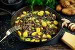 Krompirjevi njoki z gobami