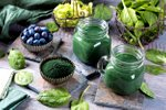 Detox smoothie s spirulino