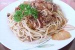 Špageti s sardelicami