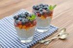 Chia puding s sadjem