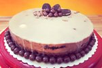Čokoladno-piškotna torta brez peke