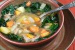 Puranja juha s špinačo