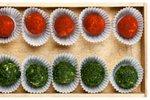 Sirove kroglice z zelišči in začimbami
