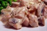 Piščanec v kremasti pehtranovi omaki