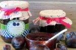 Pečena slivova marmelada