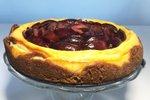 Cheesecake s slivami