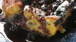 Kruhov narastek z borovnicami