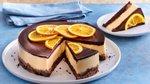 Čokoladno-pomarančna smetanova torta