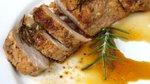 Svinjska ribica z medom in ingverjem