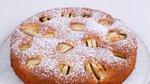 Jabolčni kolač z medom