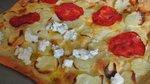 Pica z mladim krompirjem