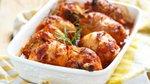 Pečene piščančje krače s paradižnikom
