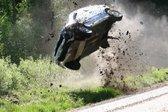 VIDEO: Kako izgleda, če reli dirkalnik pri 190 km/h zleti s ceste - 2