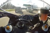 VIDEO: Divja vožnja motorista pri 299 km/h - 1