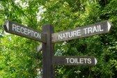stranišče v naravi