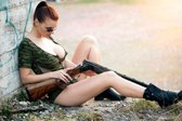seksi vojakinja