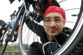 Avanturistični kolesar Simon Eržen na poti okoli sveta