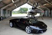 Lahko lamborghini aventador premaga letalo F-16? - 1