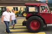 Beat Studer s traktorjem