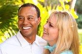 Lindsey Vonn in Tiger Woods