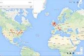 Google Maps Timeline