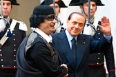 gaddafi berlusconi