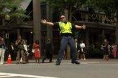 Policaj pleše