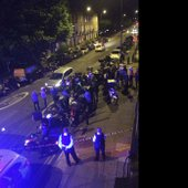 Napad s kislino v Londonu