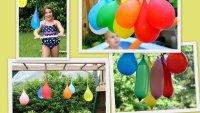 Pinata z vodnimi baloni
