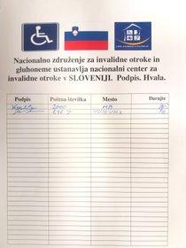 Prostovoljne prispevke pobirali pod pretvezo, da zbirajo denar za invalidne in gluhe otroke
