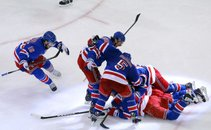 Veselje hokejistov New York Rangers