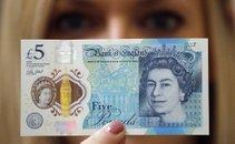 Bankovec za pet funtov