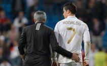Cristiano Ronaldo in Jose Mourinho