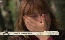 sabina, solze