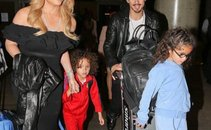 Mariah in Bryan z otrokoma prišla iz Dubaja