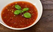 Hladna paradižnikova juha – gaspačo