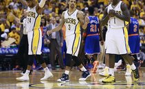 Paul George, George Hill in Lance Stephenson