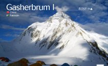 Pogled na goro Gashebrum 1